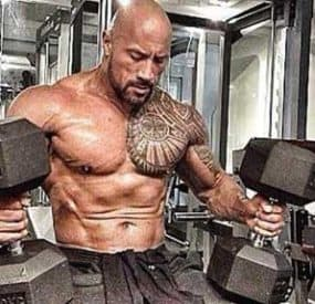 Dwayne 'The Rock' Johnson Hercules Workout