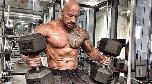 Dwayne 'The Rock' Johnson Hercules Workout
