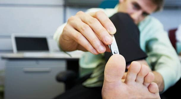 The Man's Guide to Foot Care