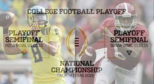 Inaugural College Football Playoff Field Is Set