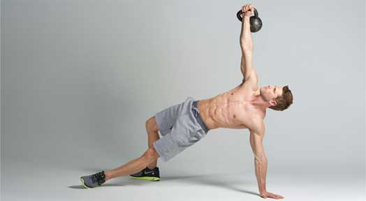 Kettlebell Abs Workout to Build your Six Pack