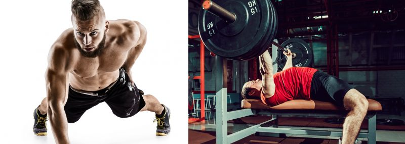 Bench Press or Push Ups
