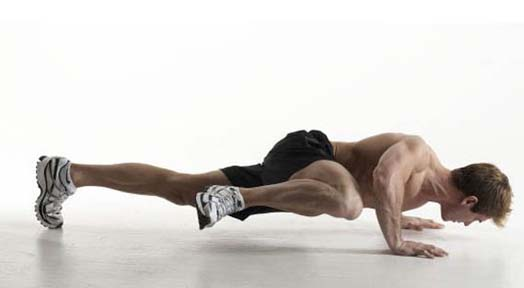 Get More out of your Workout with The Spiderman Pushup