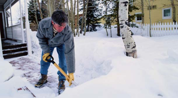 Mother Nature - Snow Hazards & Your Heart Health