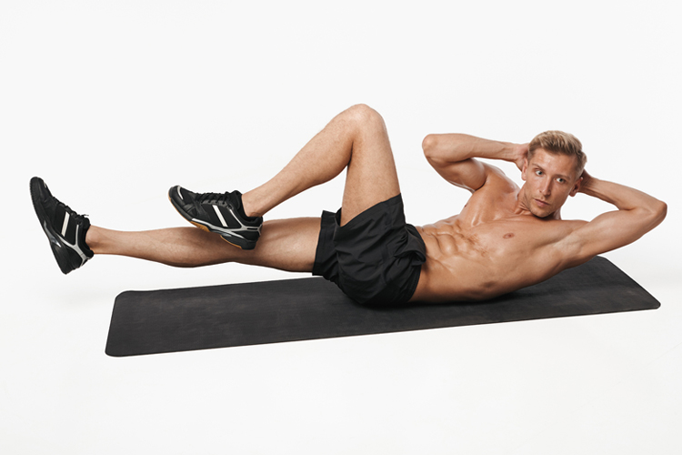 Best Exercises to Build Your Obliques and Firm Your Core - Oblique Crunch