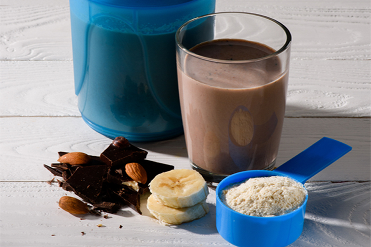 Healthy Breakfast Ideas to Fuel Your Strength Training - Chocolate Banana Protein Shake