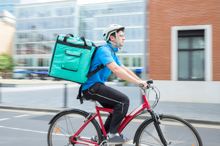 The Most Physically Demanding Jobs - Bike courier