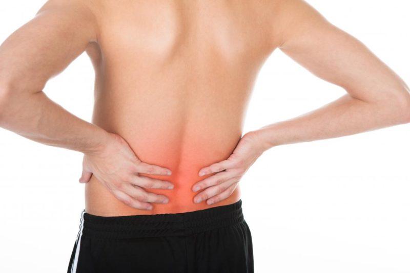 muscular back injury