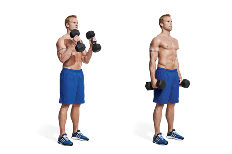 Best Bicep Workouts for Strong and Impressive Arms - Hammer Curl