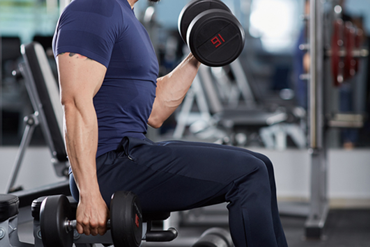 Best Bicep Workouts for Strong and Impressive Arms - Incline Bicep Curls
