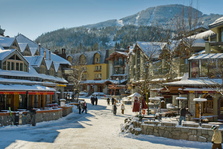 Winter Resorts Perfect for a Fitness Vacation - Whistler