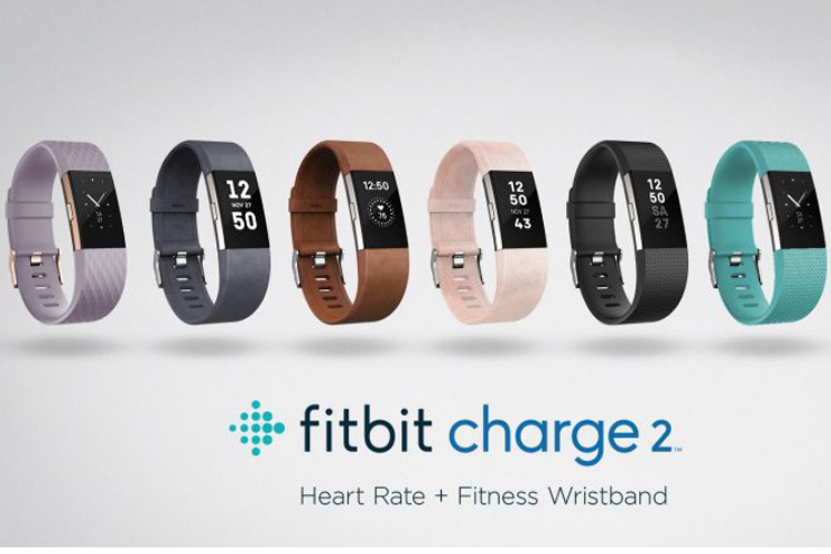 Fitness Gifts for Men who like to Workout - Fit Bit Charge 2