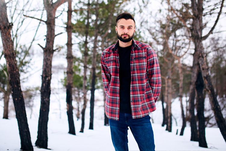 Winter Fashion Trends for Men to Still Look Hot When it's Cold - Plaid