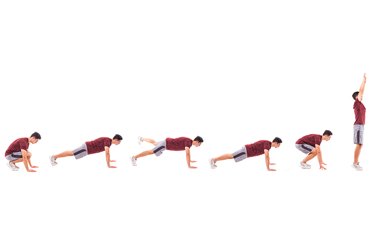 How To Do The Perfect Burpee For A Full Body workout