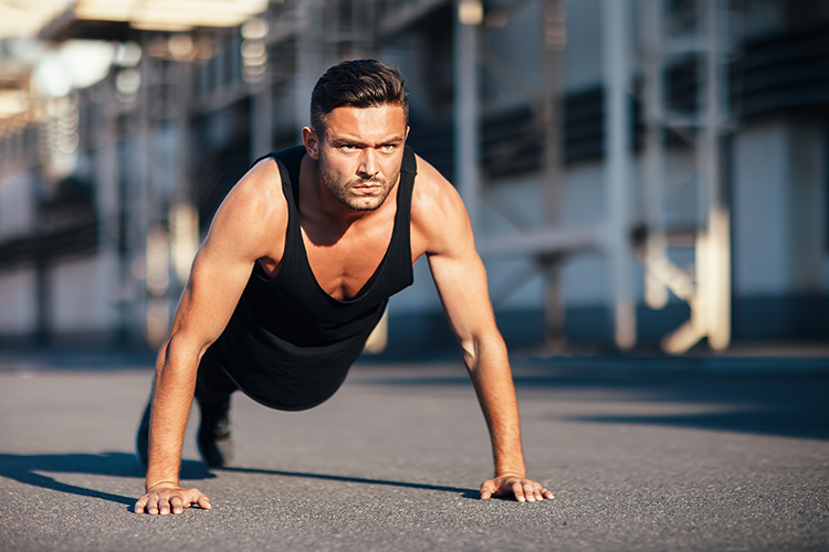 pushups for burning belly fat