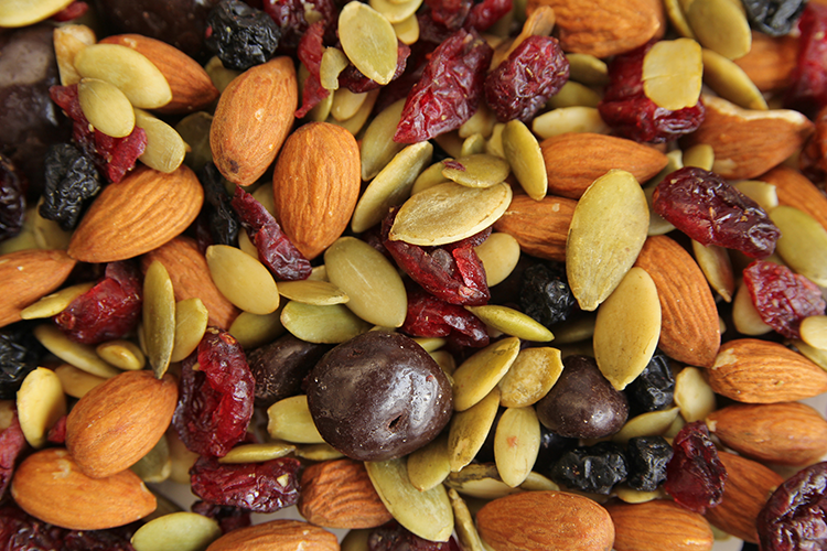 nuts and trail mix