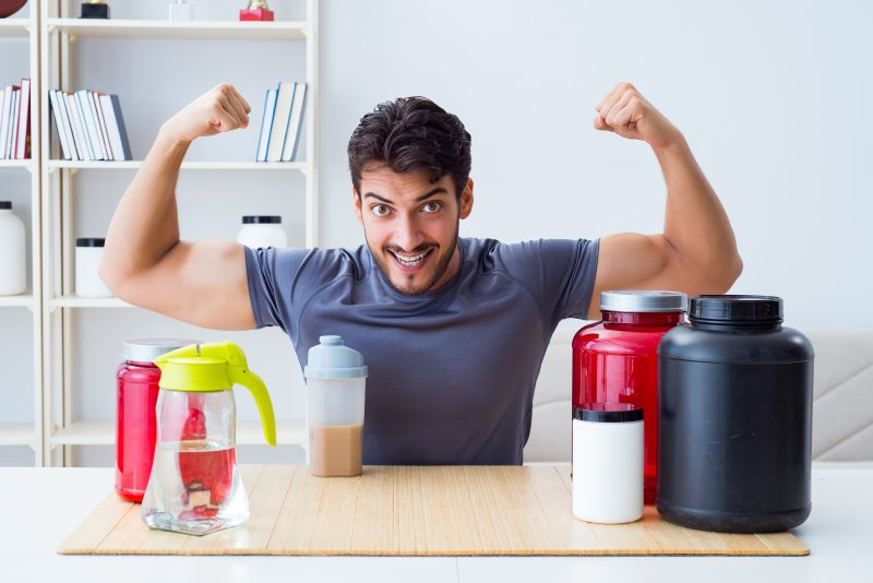 health drink and weight loss supplements