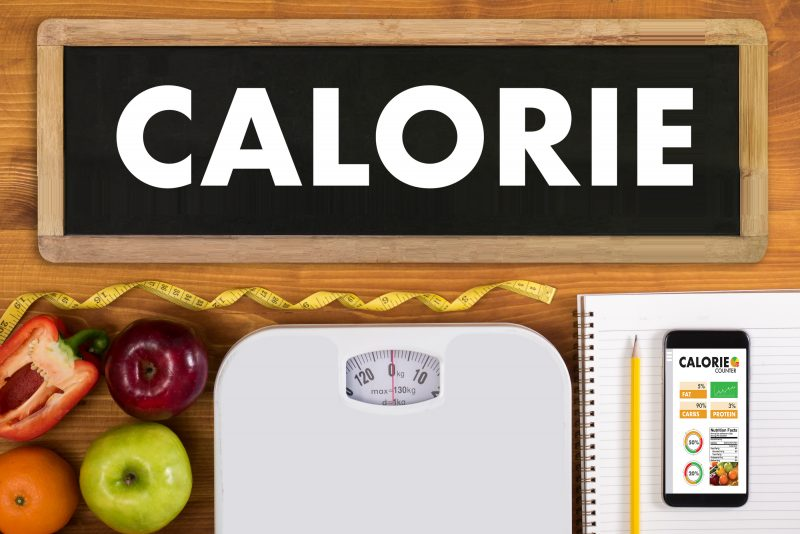 eye the calorie intake