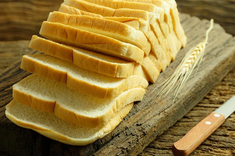 unhealthy white bread