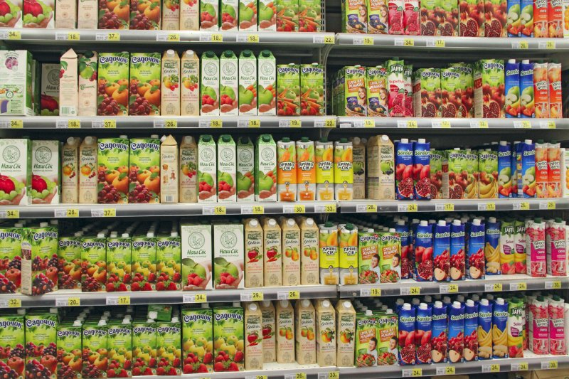 packaged fruit juices with preservatives
