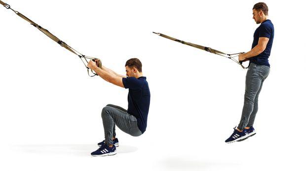 Body Weight Workout TRX Straps