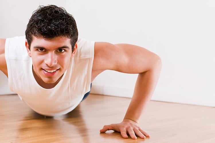 Exercising helps to sleep better
