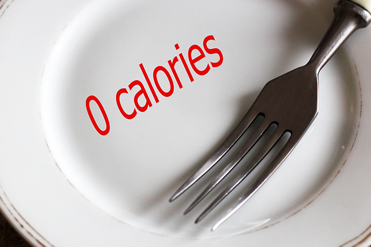 No extra calorie consumption