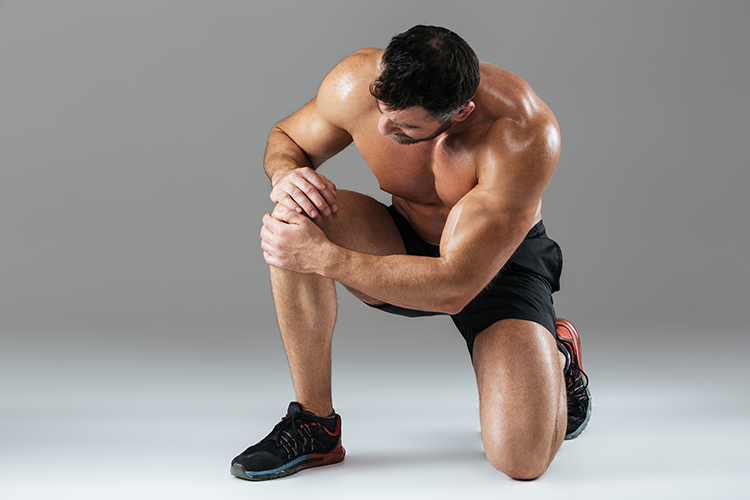 Box squatting does not put much stress on knees