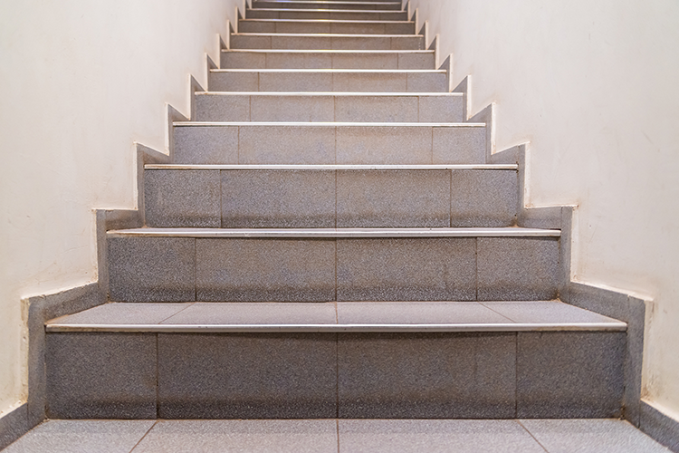 avoid stairs for muscle relief