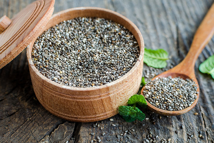 Chia Seeds with greater nutritional value