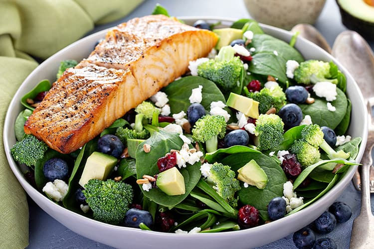 muscle after 50 proper nutrition salmon salad