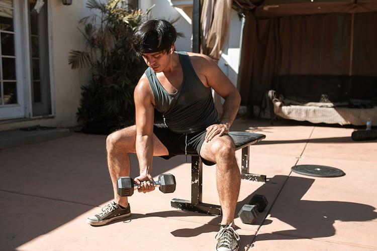 The Top 4 Week Beginner Workout Plan workout space