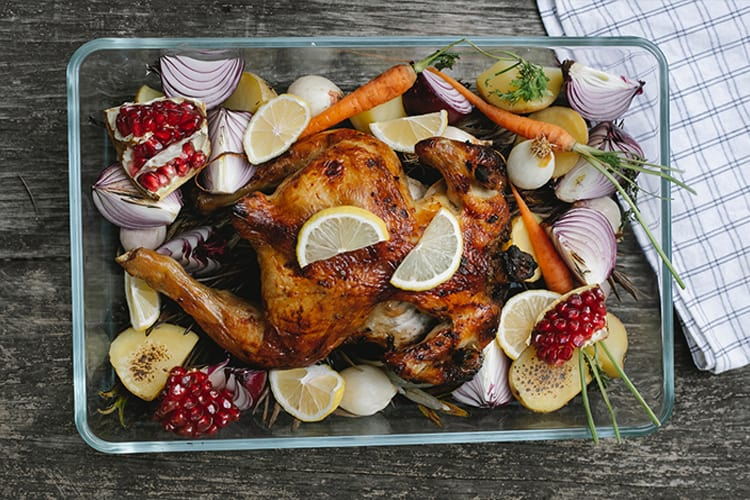healthy meals roasted chicken